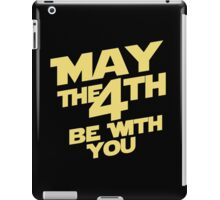 May the 4th iPad Case/Skin