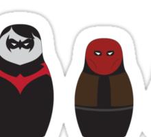 Nesting Bats Sticker