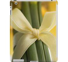 Ribbon Tied Daffodils iPad Case/Skin