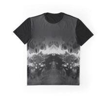 Abstract Black Graphic T-Shirt