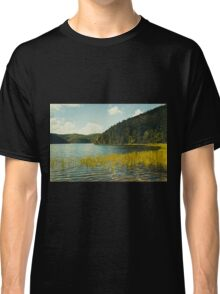 Grass by the lake Classic T-Shirt