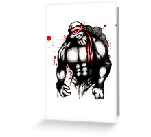 Raph Greeting Card