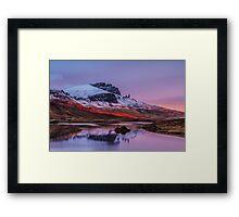 Loch Fada Reflections Framed Print