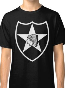2nd Infantry white stencil Classic T-Shirt