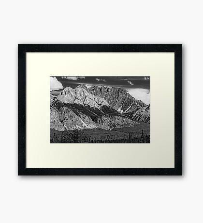 The Kananaskis Framed Print