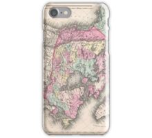 Vintage Map of Canada (1857)  iPhone Case/Skin