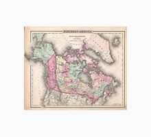 Vintage Map of Canada (1857)  Unisex T-Shirt