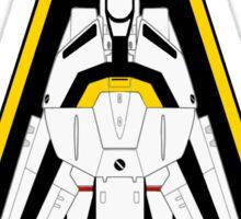 Macross Robotech Skull Squadron VF-1S Valkyrie  Sticker