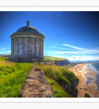 Mussenden Temple Sticker