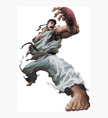Ryu Transparent Photographic Print