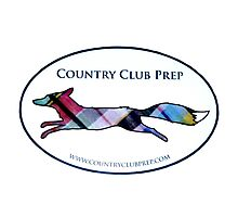 Country Club Prep Logo Photographic Print