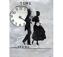 Time Steps Photographic Print