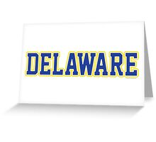 Delaware Jersey Greeting Card
