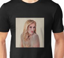 Gillian Anderson oil color painting  Unisex T-Shirt