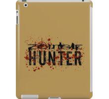 Zombie Hunter - black iPad Case/Skin