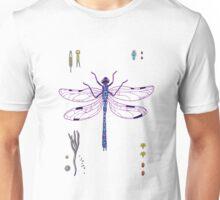 happy dragonfly Unisex T-Shirt