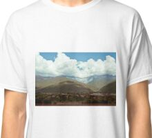Moutains and clouds Classic T-Shirt