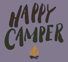 happy camper Kids Tee