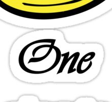 """One ring to rule them all"" Quote Sticker"