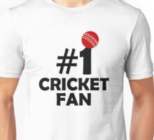 #1 Cricket Fan Unisex T-Shirt