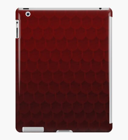 Red Scales  iPad Case/Skin