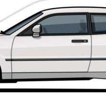 Micha's White VW Corrado G60 Sticker