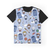 Doctor Who pattern  Graphic T-Shirt