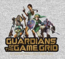 Guardians of the Game Grid. One Piece - Short Sleeve