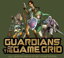 Guardians of the Game Grid. by skunkrocker