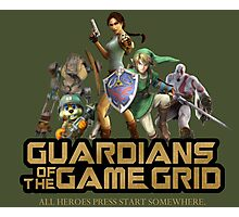 Guardians of the Game Grid. Photographic Print
