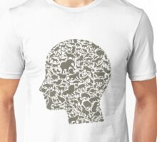 Head an animal Unisex T-Shirt