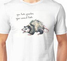 You Lack Gravitas, Opossum Unisex T-Shirt