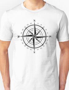 True North Compass Nautical Love Unisex T-Shirt