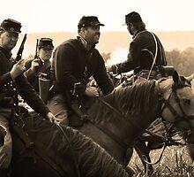 Yank Cavalry - Chickamauga, Georgia by Alex Zuccarelli