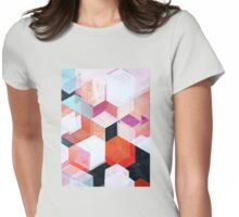 White Paint and Some Colors Womens Fitted T-Shirt