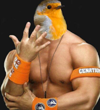John Cena with a bird head Sticker