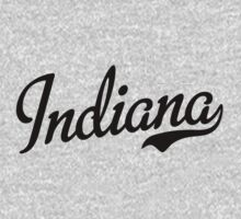 Indiana Script Black by USAswagg