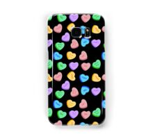 NO - Unhappy Valentines day repeating pattern Samsung Galaxy Case/Skin