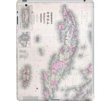 Vintage Map of Cuba (1861) iPad Case/Skin