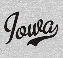 Iowa Script Black by USAswagg