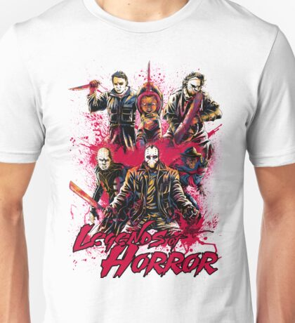 LEGENDS OF HORROR Unisex T-Shirt