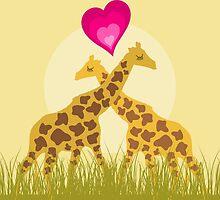 Love a giraffe by Aleksander1