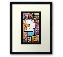 Breaking Bad-Gta Framed Print