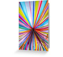 Chiffon abstract cell hone design Greeting Card