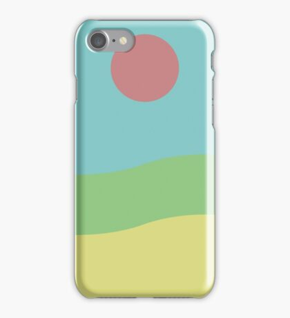 Movement in Waves and Rays iPhone Case/Skin