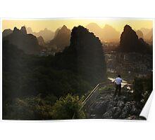 Karst Lands - Guilin, China Poster