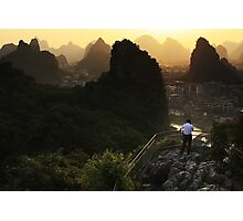 Karst Lands - Guilin, China Photographic Print