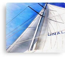 Keep The Wind In Your Sails Canvas Print
