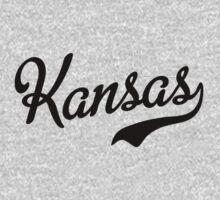 Kansas Script Black by USAswagg
