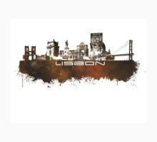 Lisbon brown art One Piece - Long Sleeve